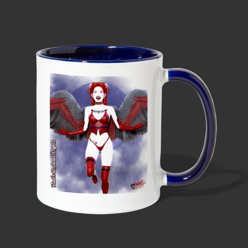 Undead Angels By Moonlight Vamp Cupid Scarlet 1 - Contrast Coffee Mug