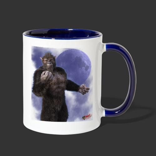 Undead Angels By Moonlight: Wolf Beast - Contrast Coffee Mug