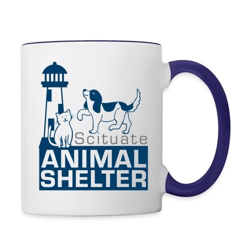 3color logomark NEW - Contrast Coffee Mug