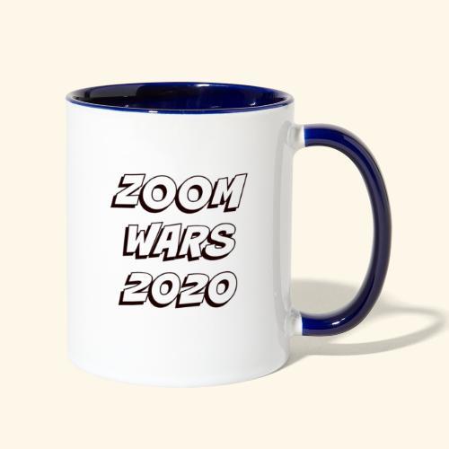 Zoom Wars 2020 - Contrast Coffee Mug