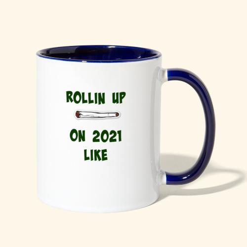 Rollin up on20201 like joint - Contrast Coffee Mug