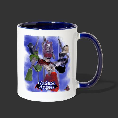Undead Angels: Pole Dance Trio Full Moon - Contrast Coffee Mug