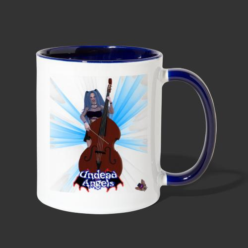 Undead Angels: Vampire Bassist Ashley Spotlight - Contrast Coffee Mug