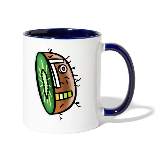 Kiwi Bot - Contrast Coffee Mug