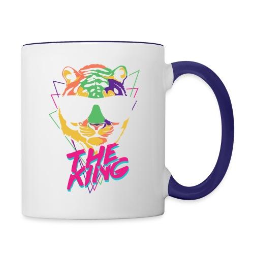 King Tiger - Contrast Coffee Mug