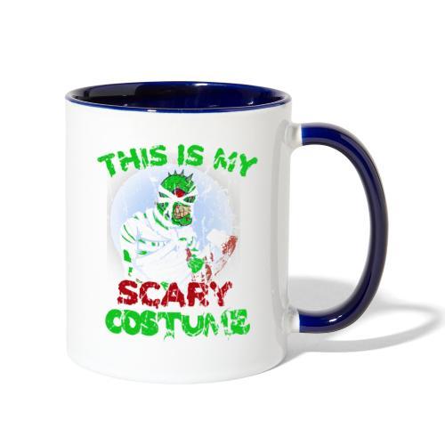 My Scary Costume - Contrast Coffee Mug