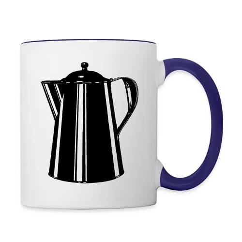 Coffee Pot - Contrast Coffee Mug