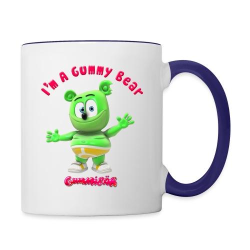 I'm A Gummy Bear - Contrast Coffee Mug