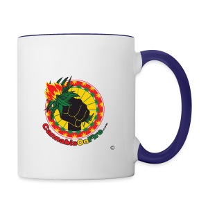 Cannabis On Fire 420 Power - Contrast Coffee Mug
