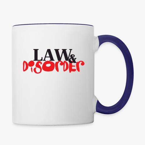 Law DISORDER Logo - Contrast Coffee Mug