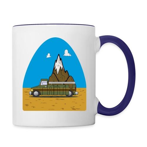 faith moves mountains 2018 - Contrast Coffee Mug