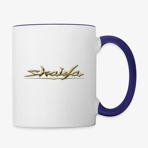 Gold Shaiya EP 4 - Contrast Coffee Mug
