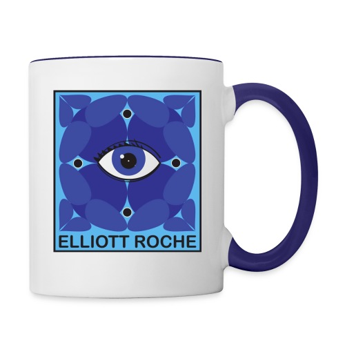 ElliottBlueEye - Contrast Coffee Mug