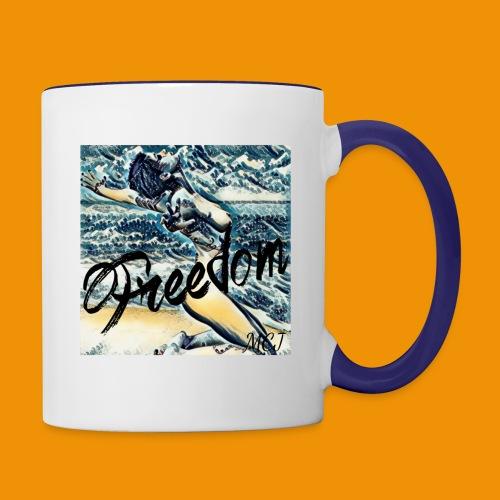 Freedom - Contrast Coffee Mug