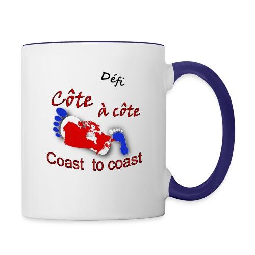 Défi côte à côte - Contrast Coffee Mug