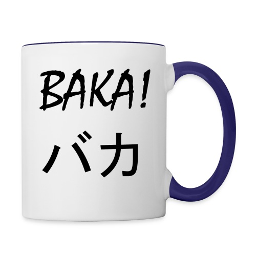 baka 2 2 - Contrast Coffee Mug