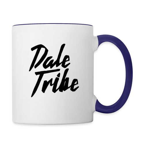 Dale Tribe Logo BLACK - Contrast Coffee Mug