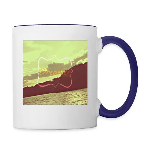 Dreamer - Contrast Coffee Mug