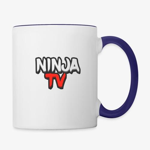 NINJA TV - Contrast Coffee Mug