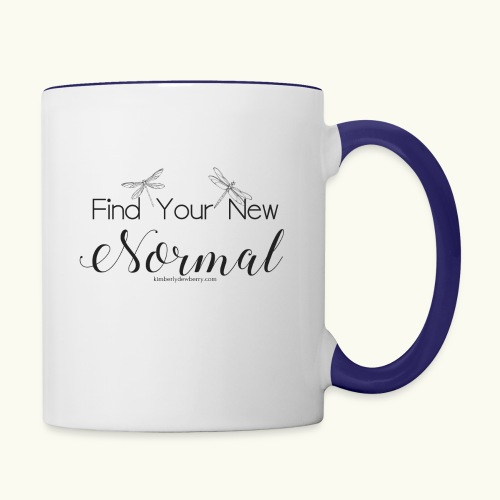 Find Your New Normal - Contrast Coffee Mug