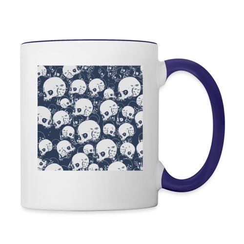 Skul Doodle - Contrast Coffee Mug