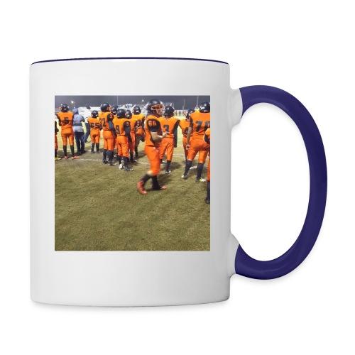 Football team - Contrast Coffee Mug
