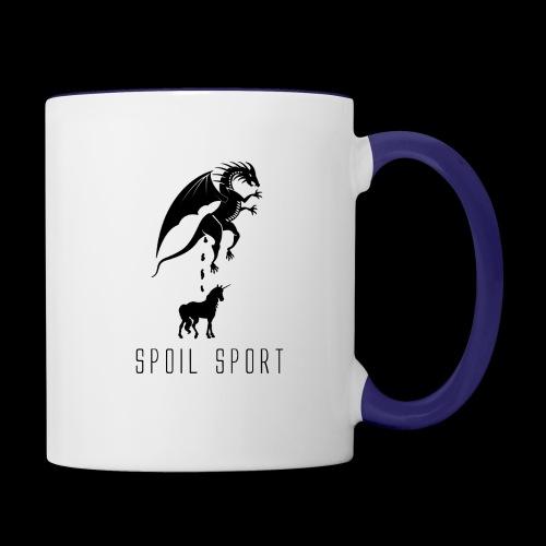 Spoil Sport - Contrast Coffee Mug