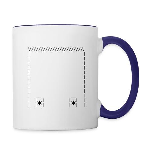 Poking Up - Contrast Coffee Mug