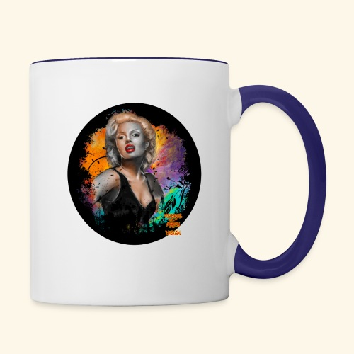 Marilyn Monroe - Contrast Coffee Mug