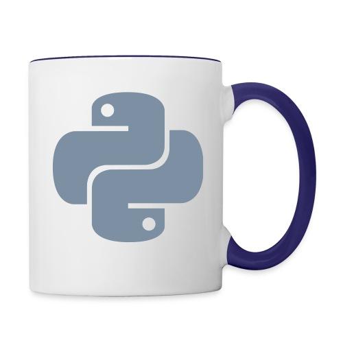 Python Logo - Contrast Coffee Mug