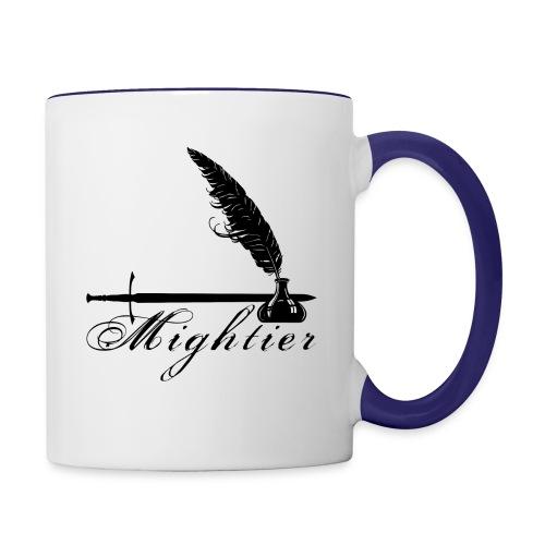 mightier - Contrast Coffee Mug