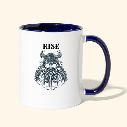RISE CELTIC WARRIOR - Contrast Coffee Mug