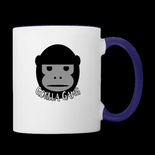 Gorilla Gang Original Insignia - Contrast Coffee Mug
