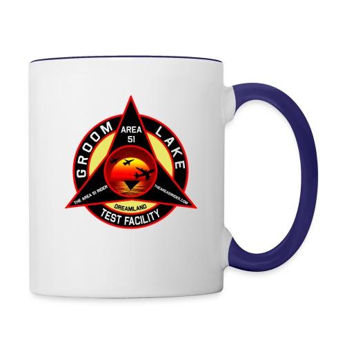 THE AREA 51 RIDER CUSTOM DESIGN - Contrast Coffee Mug
