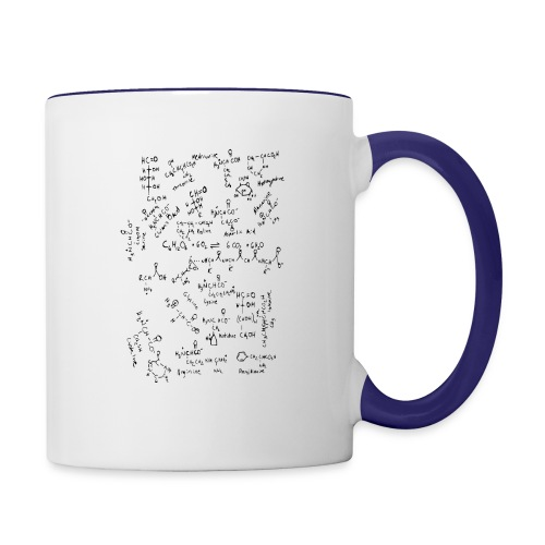 Organic chemistry: The Finale - Contrast Coffee Mug