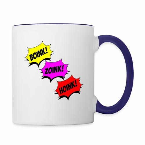 Boink Zoink Hoink - Contrast Coffee Mug
