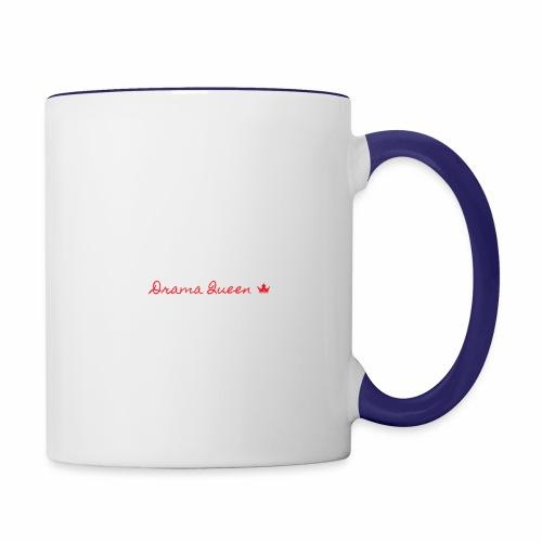 DRAMA QUEEN - Contrast Coffee Mug