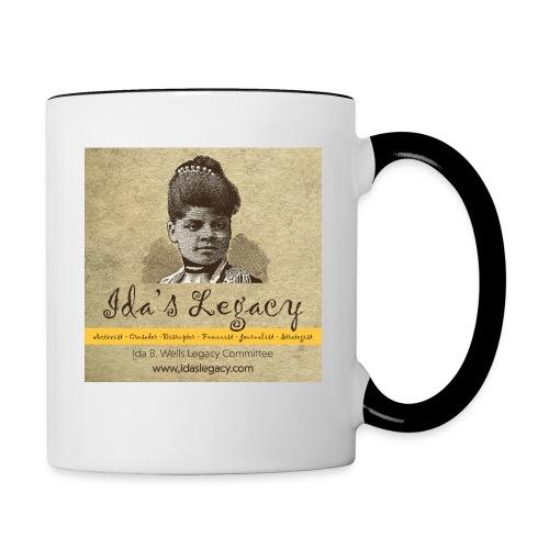 Ida's Legacy Full Color Art - Contrast Coffee Mug