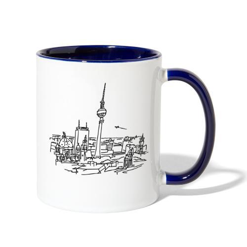 Panorama of Berlin - Contrast Coffee Mug