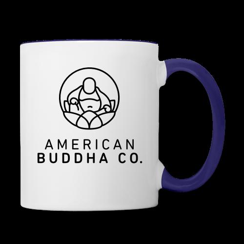 AMERICAN BUDDHA CO. ORIGINAL - Contrast Coffee Mug