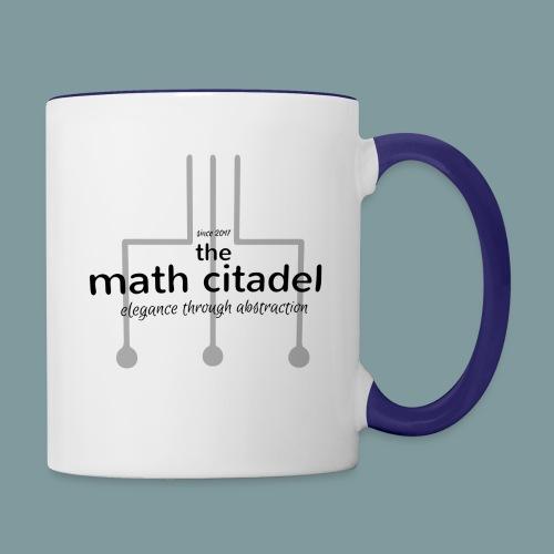 Abstract Math Citadel - Contrast Coffee Mug