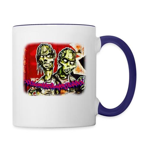 xxZombieSlayerJESSxx - Contrast Coffee Mug