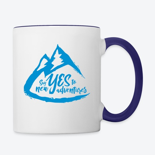 Say Yes to Adventure - Coloured - Contrast Coffee Mug