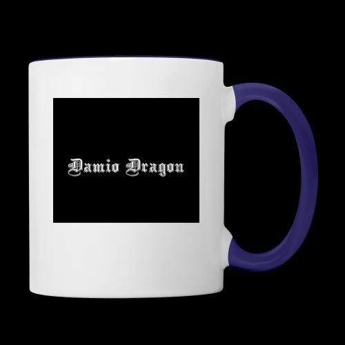 Dragonz Decor By : Damio Dragon - Contrast Coffee Mug