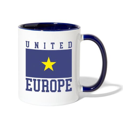 united europe union - Contrast Coffee Mug