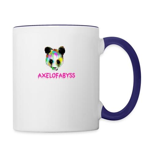 Axelofabyss panda panda paint - Contrast Coffee Mug