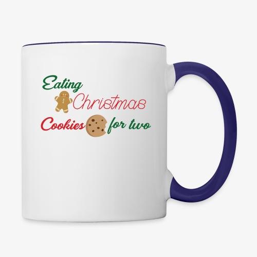 Christmas Cookies - Contrast Coffee Mug