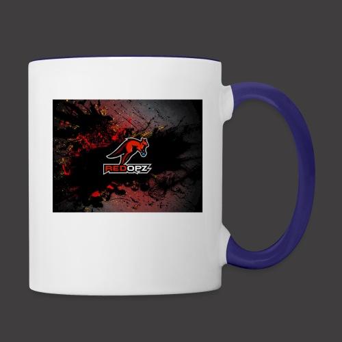 RedOpz Splatter - Contrast Coffee Mug