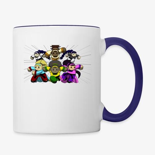 The Guardians of the Cloudgate, no logo - Contrast Coffee Mug