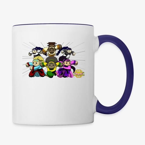 The Guardians of the Cloudgate w/ Logo - Contrast Coffee Mug